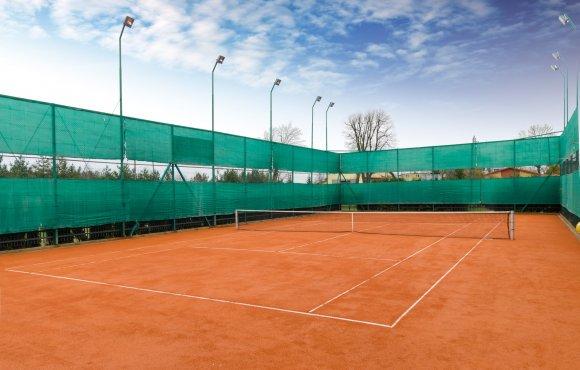 Kort tenisowy zewnętrzny